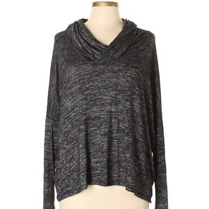 Anthropologie Paper Crane Marbled Pullover Sweater